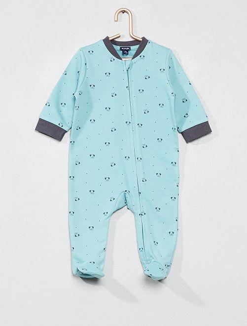 pyjama-en-molleton-imprime-vert-bebe-garcon-wj701_2_frf1