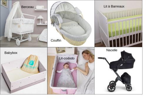 6 Solutions de couchage pour faire dormir bébé les premiers mois
